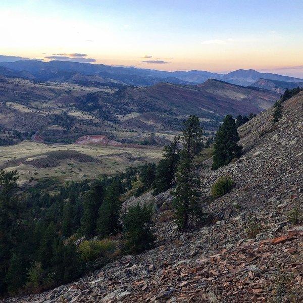 Overlook on Ponderosa Trail is incredible!