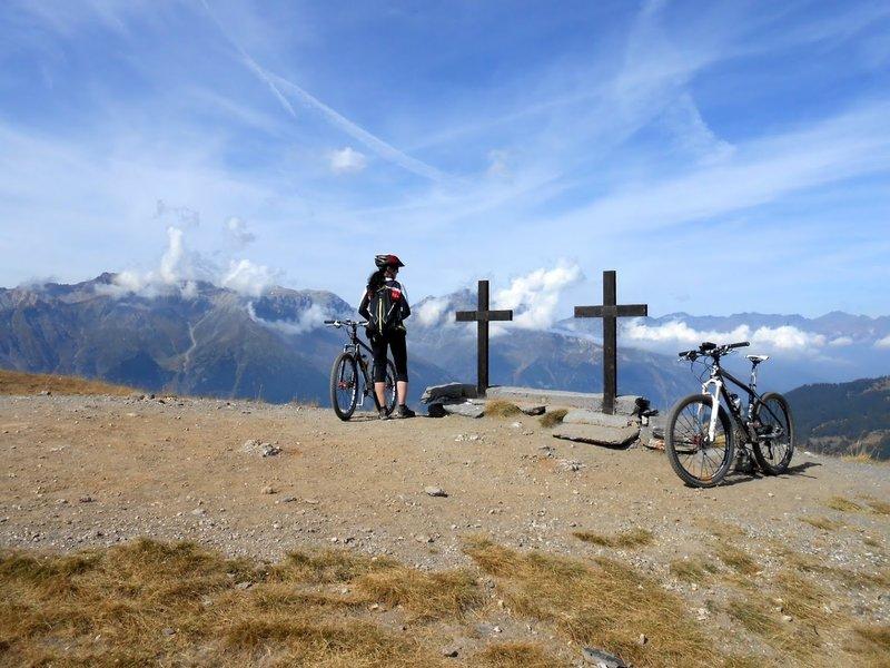 Near Mt. Genevris