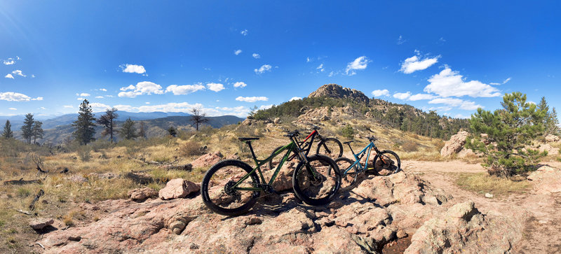 Triple Lean at Horsetooth Mountain