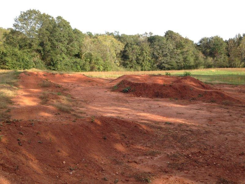 Pump track at Fox Trails.
