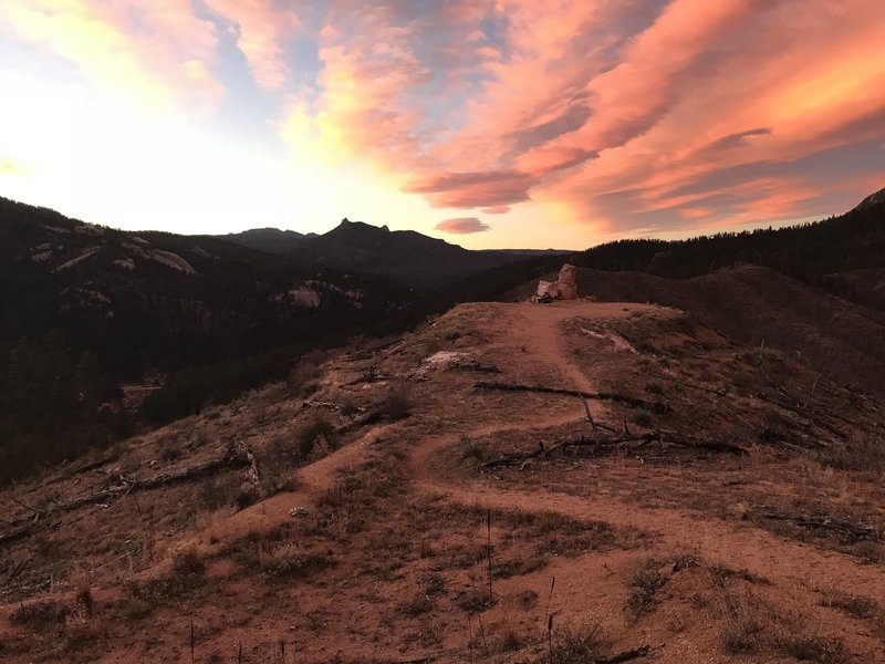 Sunrise on the CT - Segment 2 Trail