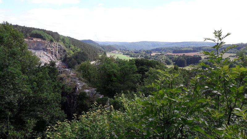 View from La-Roche-Aux-Faucons