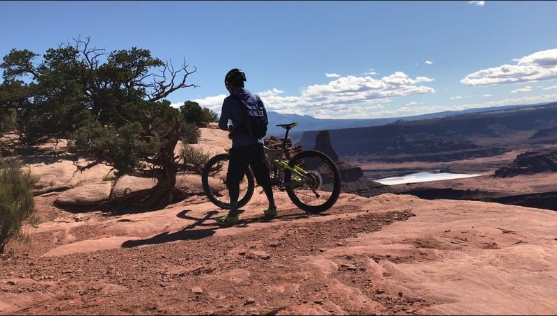 Dead Horse Point...whether you are experienced or a beginner, this trail is a must!