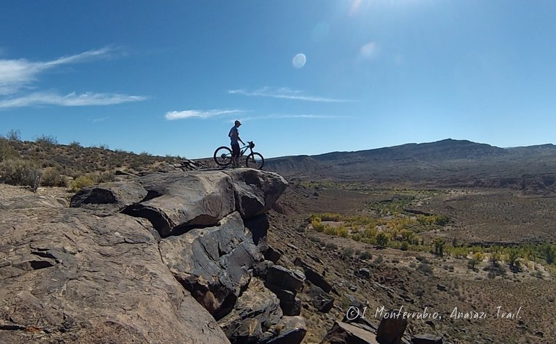 Anasazi trails is definitely a beginner's, but the views are for everyone!
