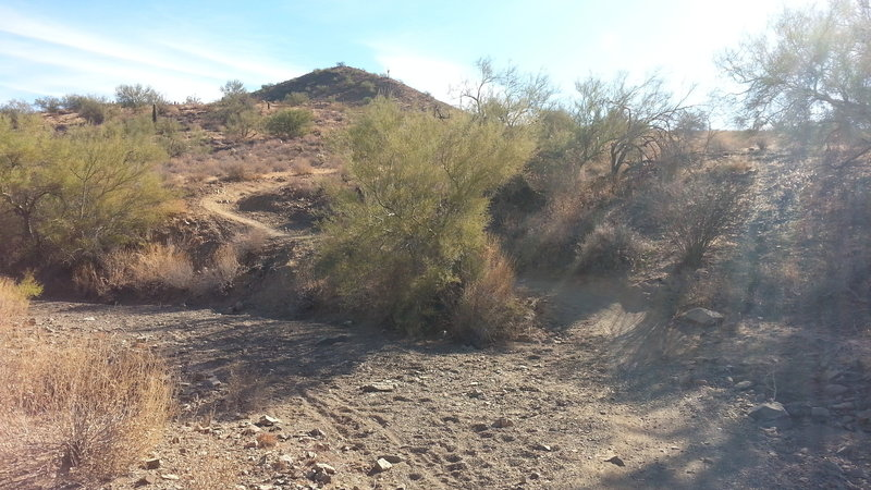 Nice descent with switchback followed by quick right turn.  Areas like this make this trail fun.