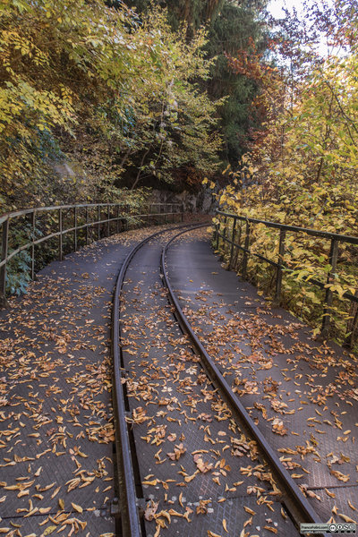 One of the few parts of the decauville with tracks