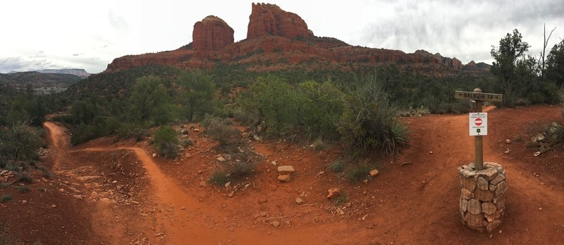 Cathedral Rock Vista at Baldwin Loop / Hiline Junction