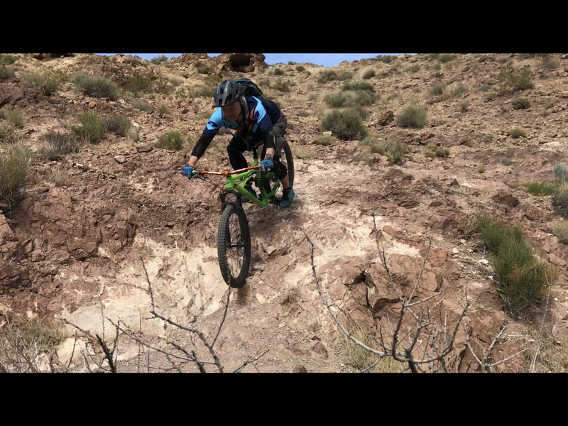 Fun Riding Down