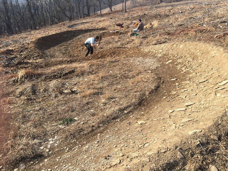 Trexler Trail Work