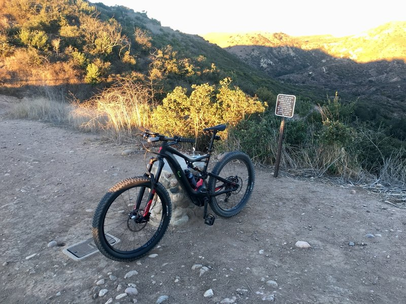Top of Whiting Ranch.