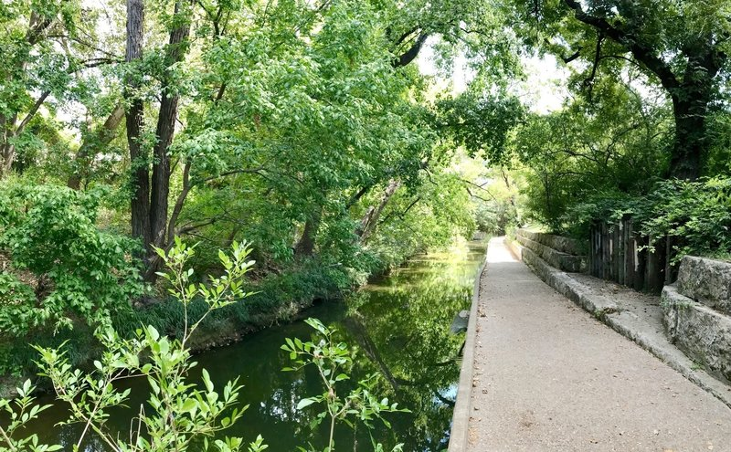 Lower Shoal Creek Trail is just half a block from the downtown Austin REI store!