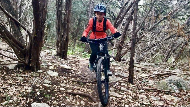Hamilton Greenbelt singletrack trail