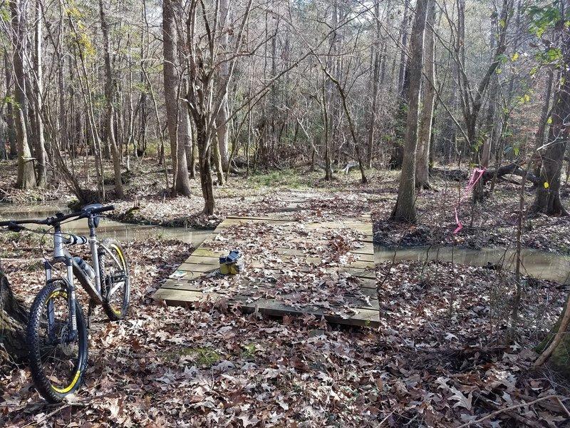 Turkey Creek crossing south of Irishtown Rd near mile marker 30
