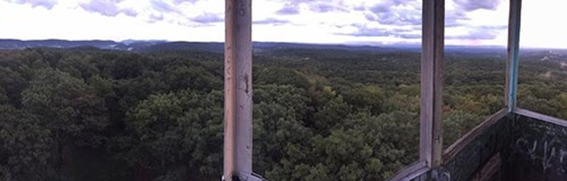 Fire tower view