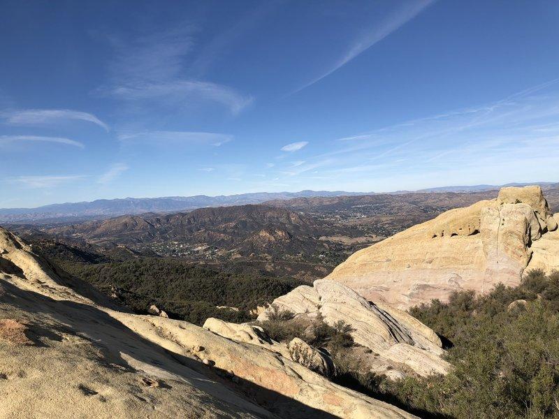 Crags-Bulldog-Mesa Peak.