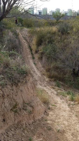First big hill.