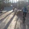 30' Road Gap Jump.