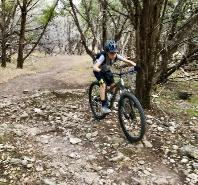 """Trail is called """"The Great Escape""""... has a bit of everything ... fun training loop."""
