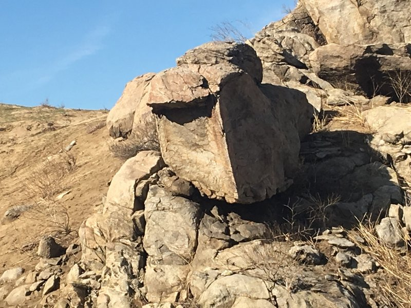 See if you can find Angry Bird Rock as you ride Skyline #2