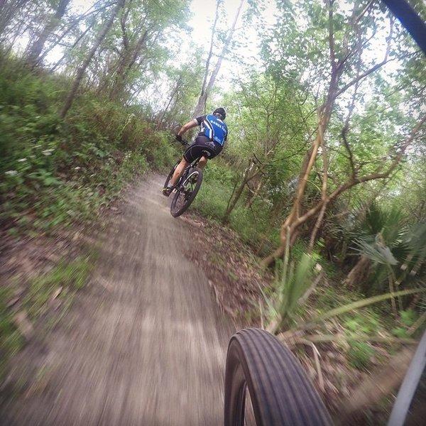 High Speed Fun in the trail.