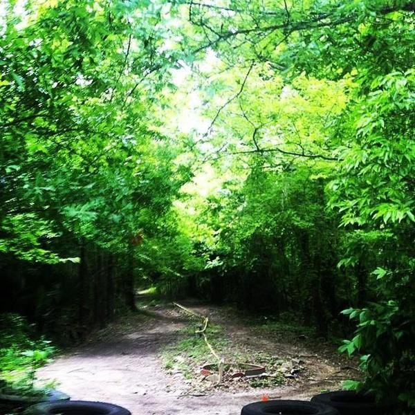 The U-turn in Dan's Trail