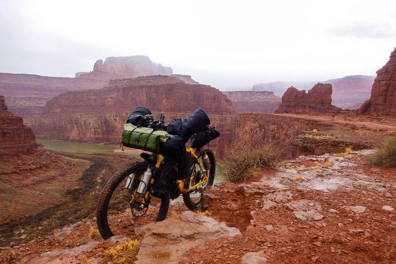 Looking north towards Canyonlands National Park.