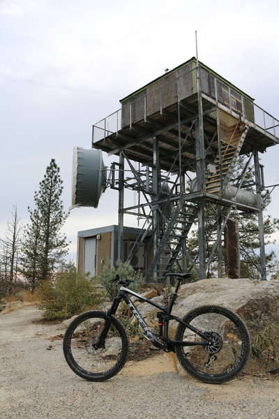 Goat Mountain Fire Tower.