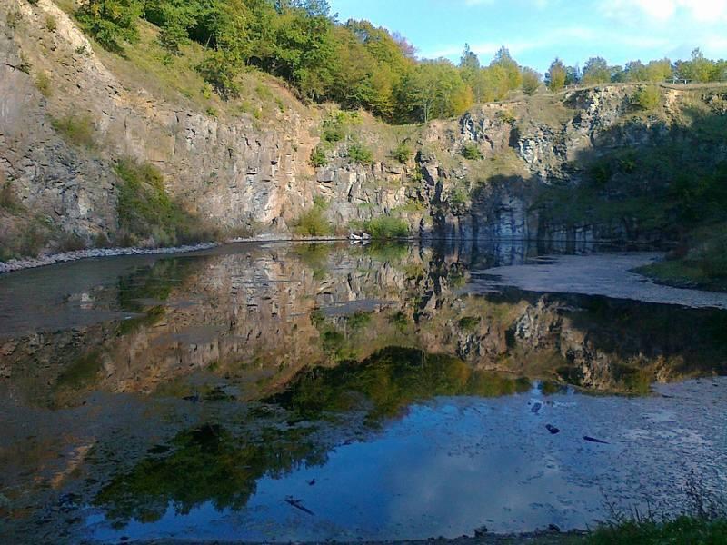 Középbánya-tó.