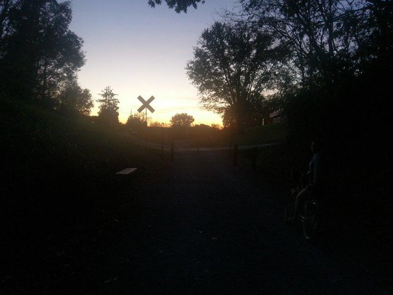 Sunset on the Tweetsie