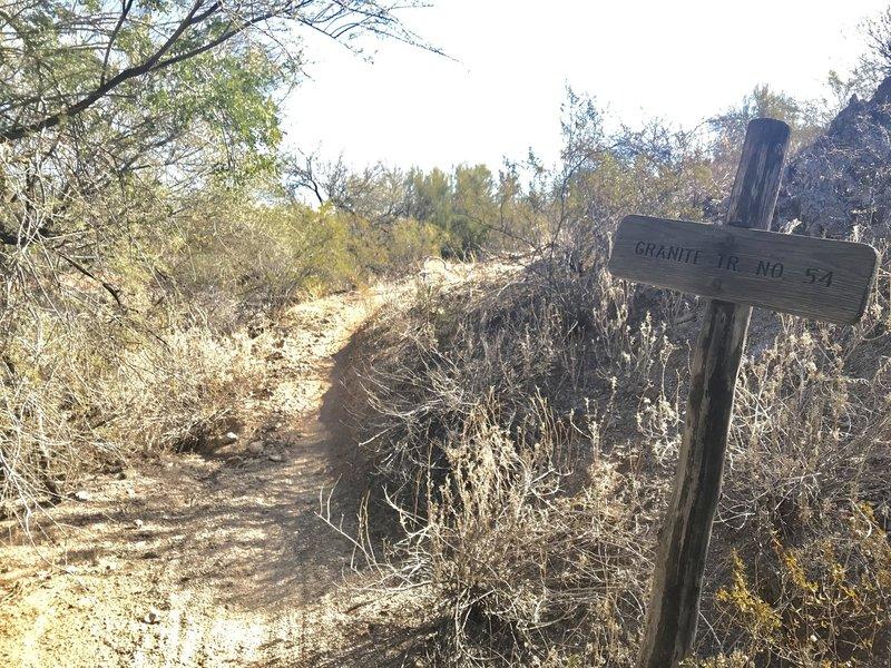 Start to Granite Trail #54