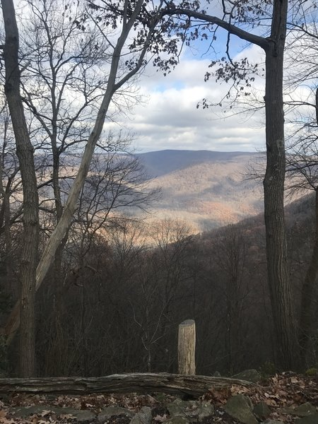 View from McCune Overlook