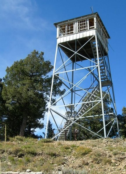 The Lookout Tower at the top...