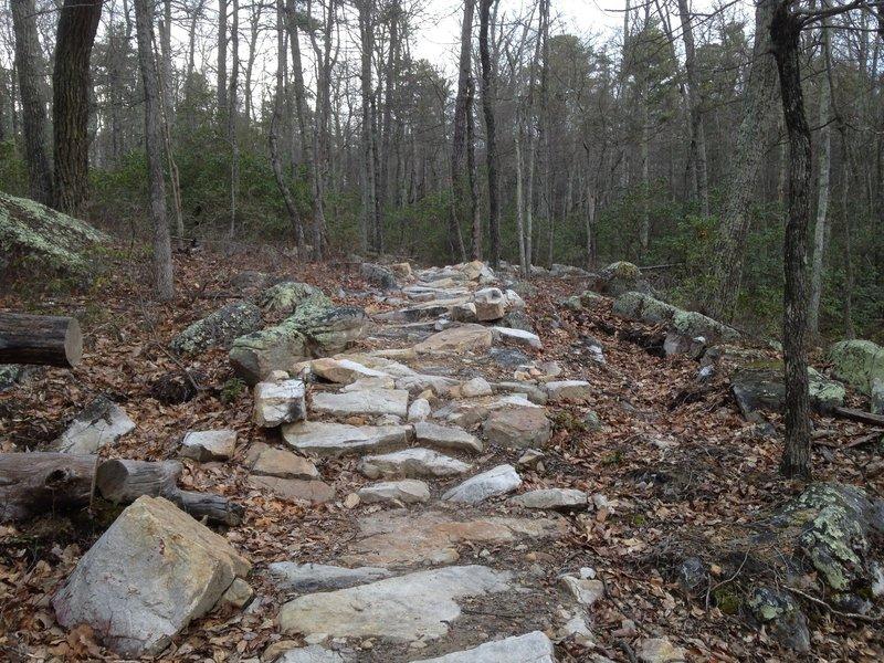 Man-Made Rock Garden on Wolf Ridge