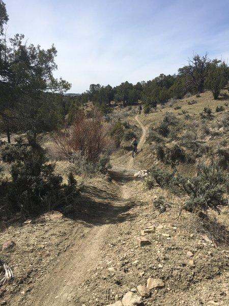 No April fools, trails are dry!