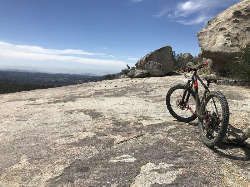 Lake Morena Loop Mountain Bike Trail, Pine Valley, California