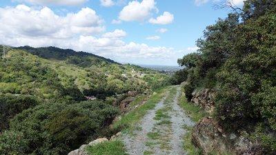 Rancho San Vicente and Calero Park Mountain Bike Trail