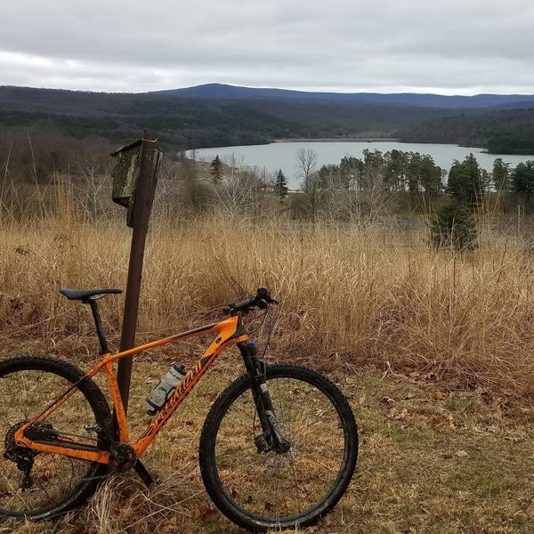 Shawnee Lake as seen from Field Trail