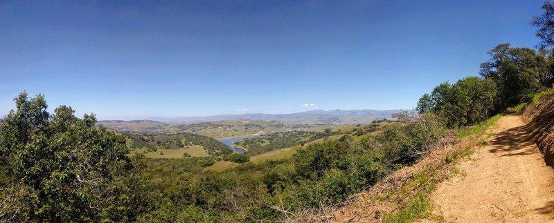 Panorama from Chisnantuk Peak Trail.