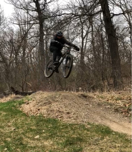 Table top jump at first section of Winona