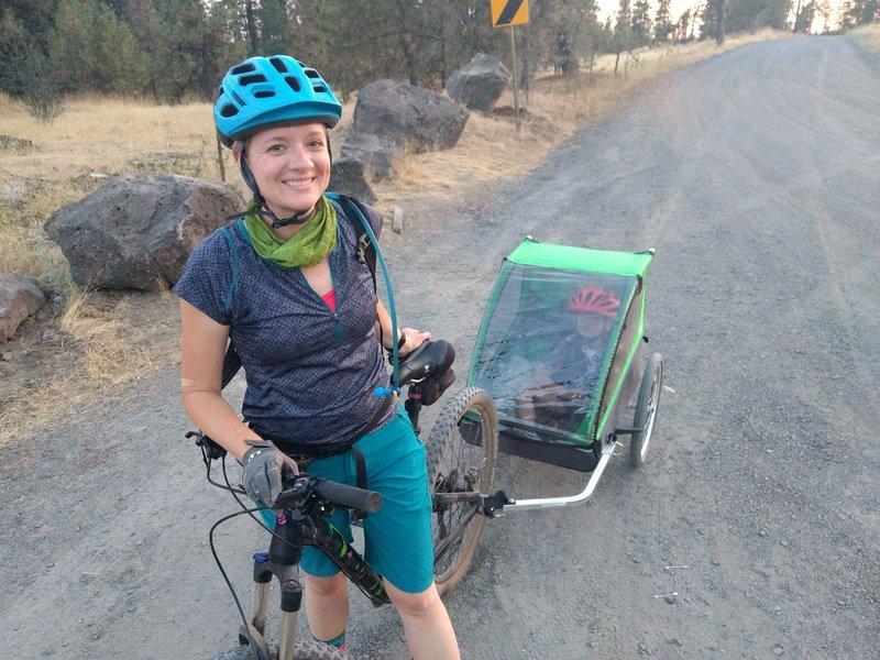 Easy & fun family bike trail