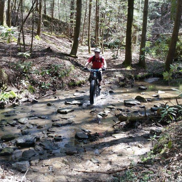 Another fun creek crossing.