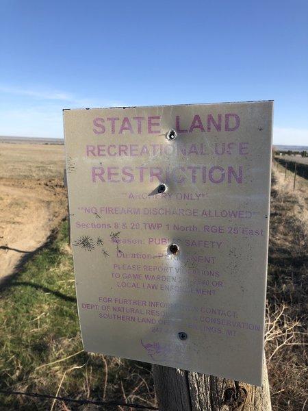 Back 6 State land