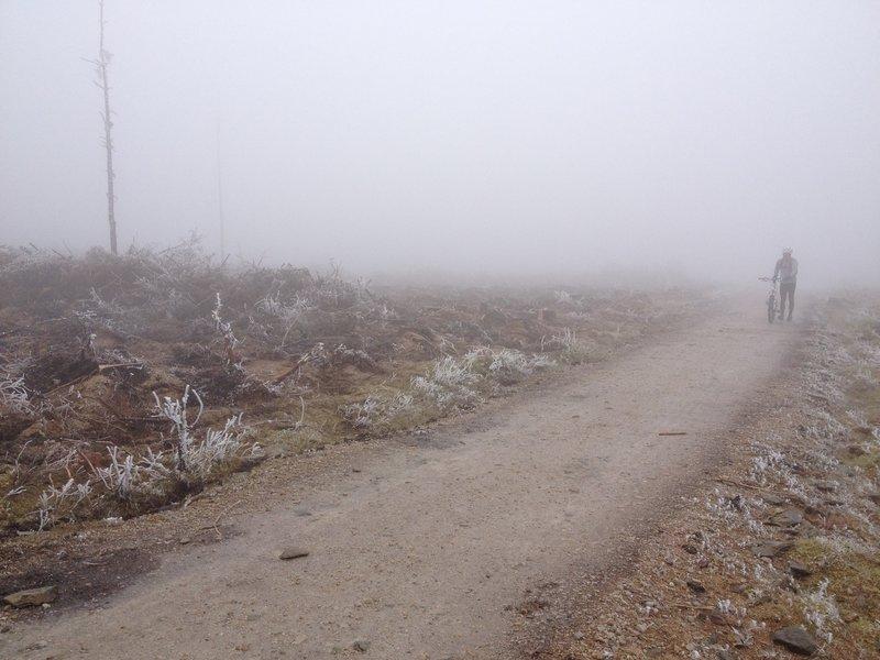 Blue Route at Llandegla.