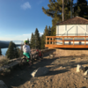 Angora Ridge Fire lookout.