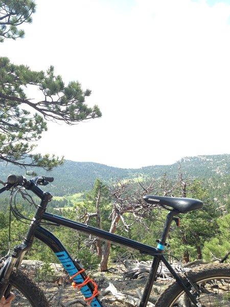 Nice view w/my bike