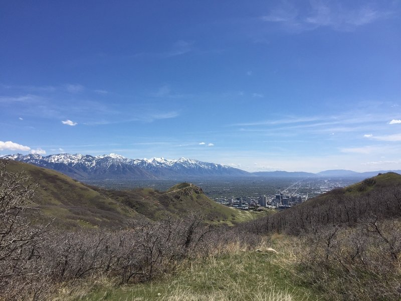 Spectacular views of SLC.