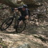 Hitting one of the many switchbacks at lost valley