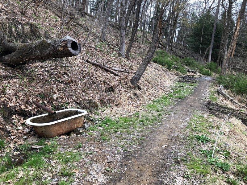The Bathtub on Bathtub Trail
