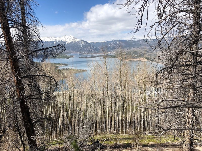 Dillon Reservoir from Chaco's TenFoot Loop