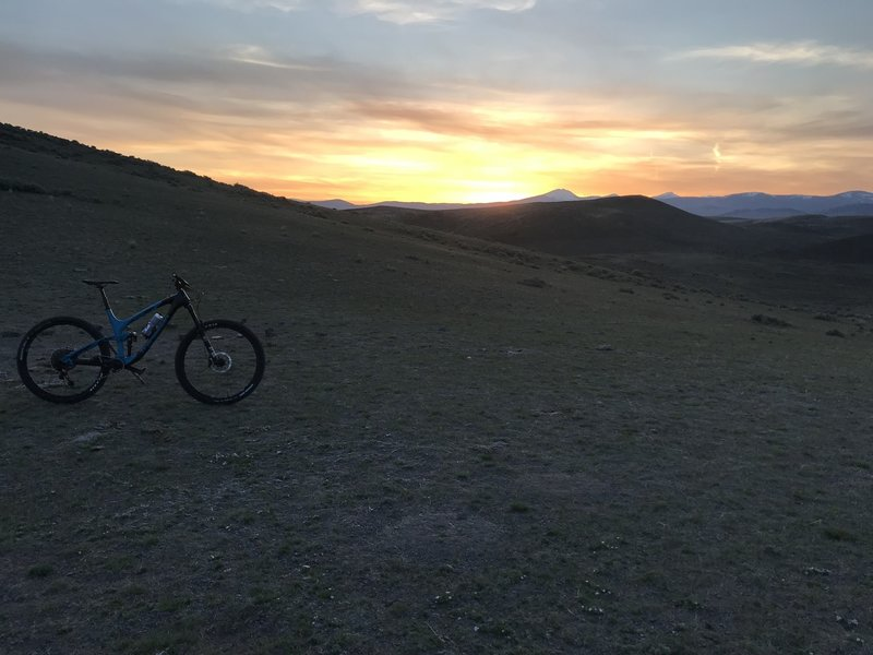 Sunset photo from Redtail Junction